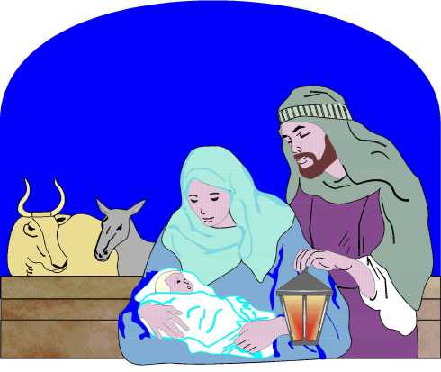 Mary, Joseph and Jesus